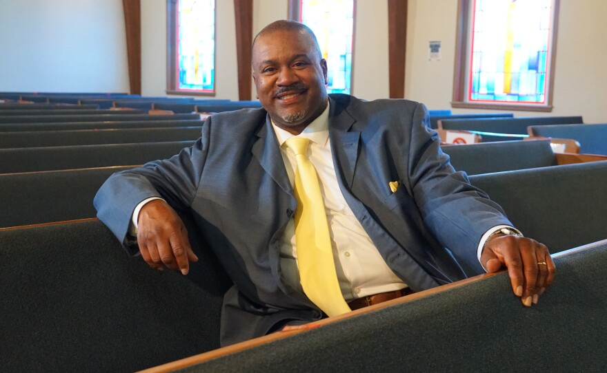 Rev. Rodrick Burton has been discussing the importance of vaccines during Bible Study and Sunday Services at his predominantly Black church.