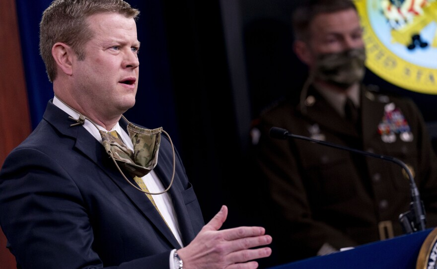 """""""This is not about metrics, but about possessing the ability to have the human decency to show compassion,"""" Army Secretary Ryan D. McCarthy said Tuesday as he announced punishments and changes related to the killing of Vanessa Guillén."""