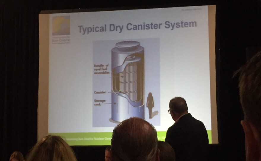 Southern California Edison's presentation at the San Onofre Community Engagement Panel meeting in Oceanside, Sept. 14, 2017.