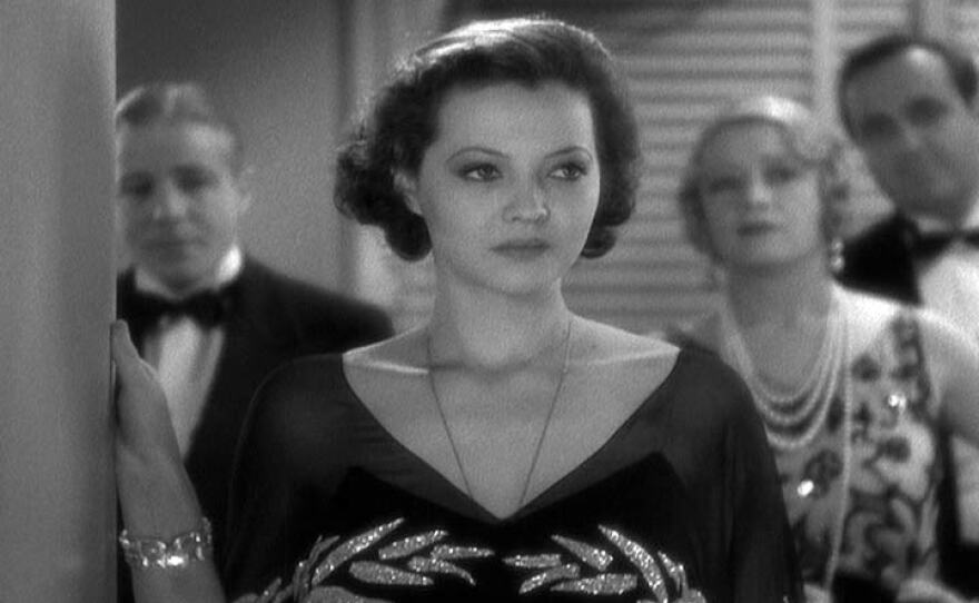 """Sylvia Sydney tries to be a """"modern"""" wife in the 1932 pre-code martial drama """"Merrily We Go to Hell."""""""