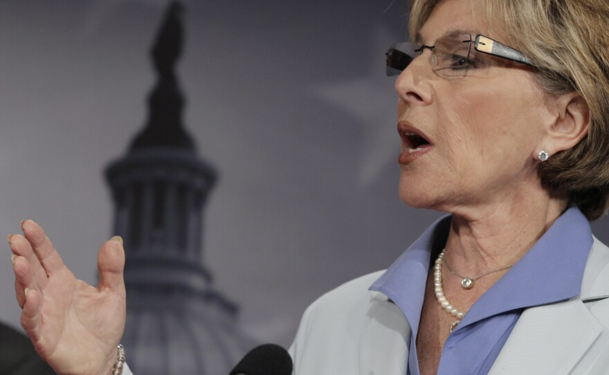 Sen. Barbara Boxer speaks during a news conference in July 2011 in Washington.