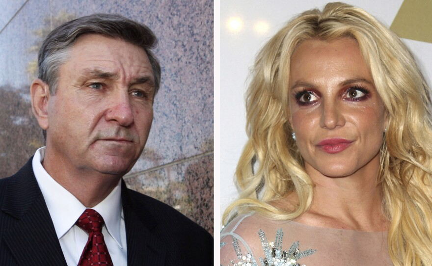 Britney Spears' father, Jamie Spears, has filed to end the court conservatorship that has controlled the singer's life and money for 13 years.