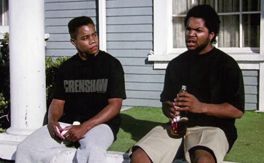 "Cuba Gooding, Jr. and Ice Cube starred in John Singleton's 1991 directorial debut ""Boyz N the Hood."""