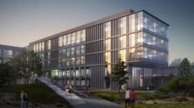 This undated artist rendering depicts the new UC San Diego building, which will be known as Tata Hall.