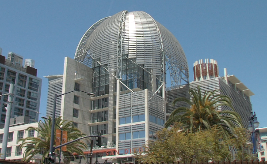 San Diego's new downtown library, which is scheduled to be complete in July 2013.