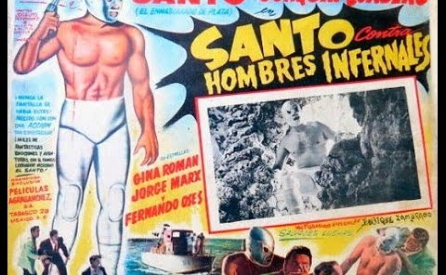 """One of the restored classics showcased at this year's Un Mundeo Extraño sidebar is """"Santo contra hombres infernales"""" (1961)."""