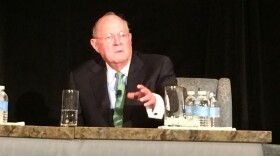 U.S. Supreme Court Justice Anthony Kennedy speaks at the Ninth Circuit Judicial Conference in San Diego, July 15, 2015.
