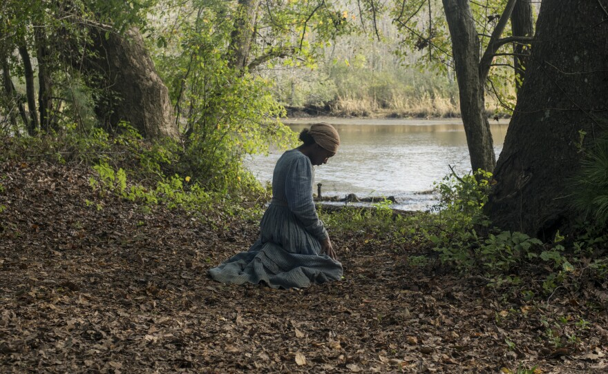 """Cynthia Erivo received an Academy Award nomination for Best Actress for playing Harriet Tubman in Kasi Lemmons' film """"Harriet."""""""