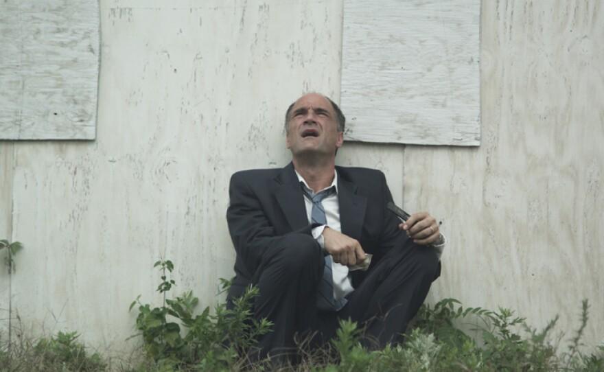 "Elias Koteas stars as a businessman adrift in his own town in ""3 Backyards."""