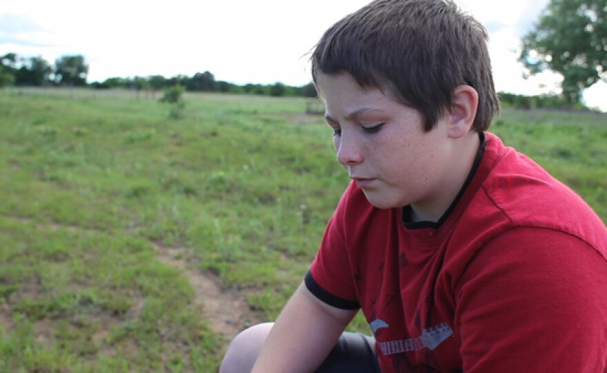 Trey, Ty's best friend, Perkins, Oklahoma.