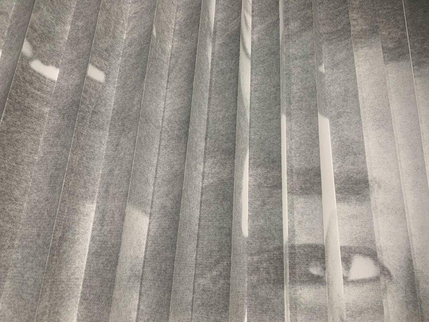 "Detail of Rizzhel Javier's ""Landsick"" work"