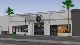 Artist rendering of what the proposed Museum of Beer might look like in East Village.