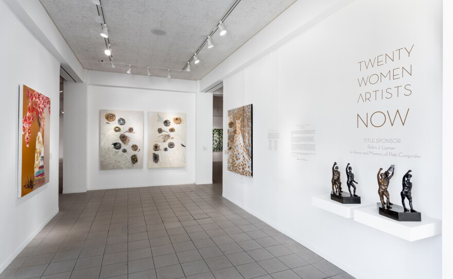 """The Oceanside Museum of Art has reopened its doors to the public, and their """"Twenty Women Artists NOW"""" exhibition is on view through Aug. 1, 2021."""