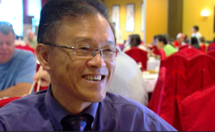 Allen Chan is the owner of Jasmine Seafood Restaurant located on Convoy Street. Aug. 25, 2016.