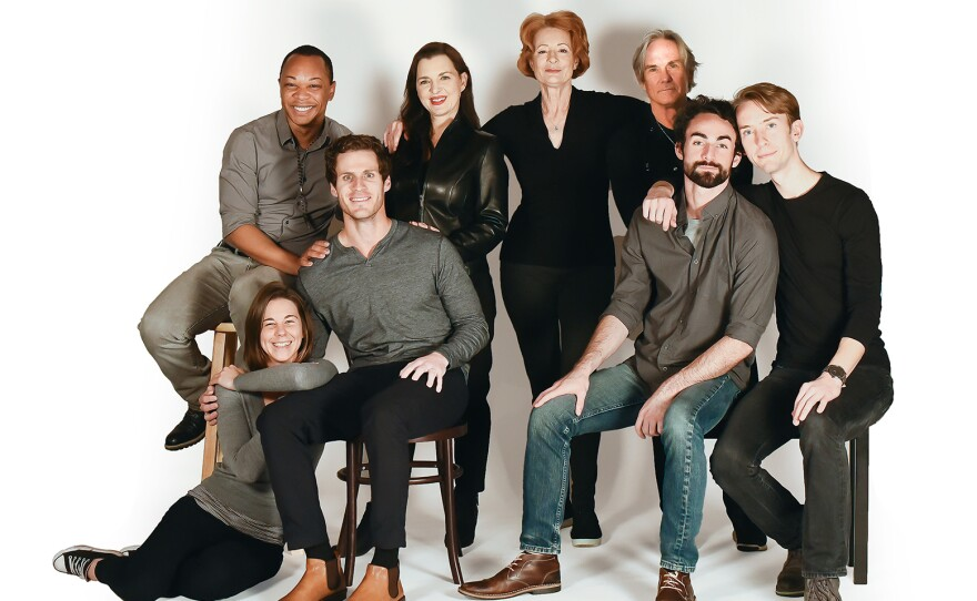 """A 2019 photo of Cygnet Theatre's """"Angels in America"""" cast."""