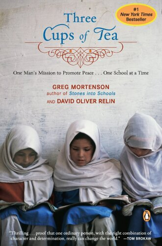 Three Cups of Tea by Greg Mortenson Book Cover