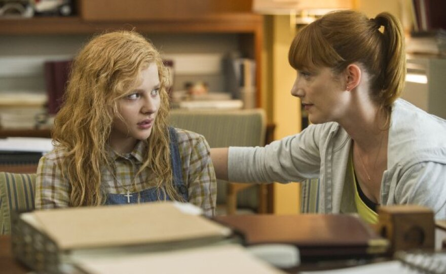 """Chloe Grace Moretz and Judy Greeer star in the remake of """"Carrie."""""""