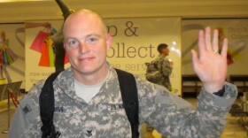 Navy Reservist Stephen Byus