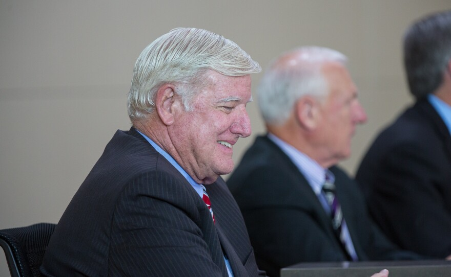 San Diego County Supervisor Greg Cox at the 2014 State of the County Address.