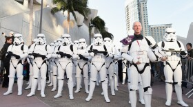 Hall H is easy to clear out when you have Stormtroopers to help and a surprise Star Wars concert to get to. LucasFilm proved that fans do matter to them with a great Hall H panel and concert that followed. July 10, 2015.