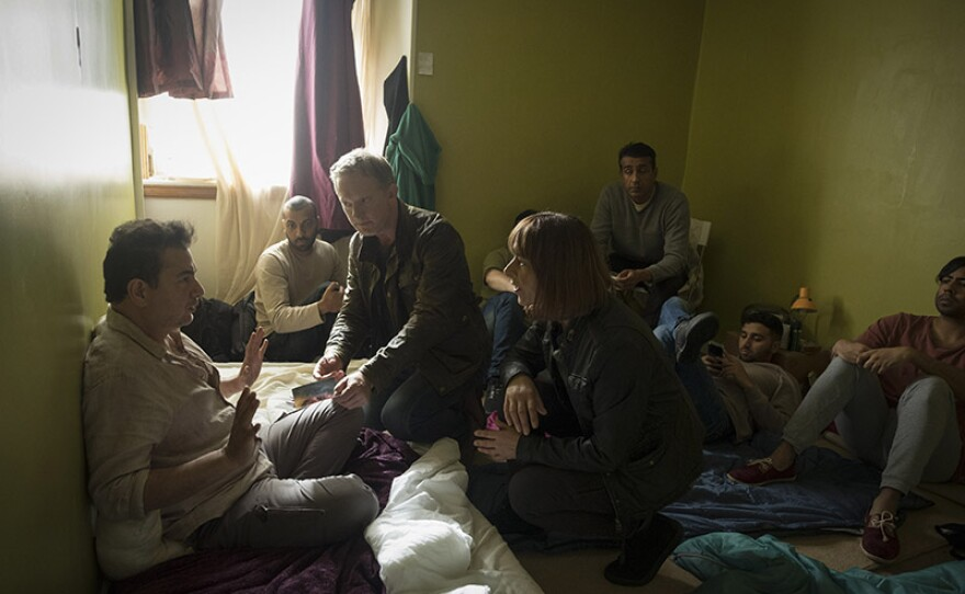 A scene from episode 1 of SHETLAND Season 5.