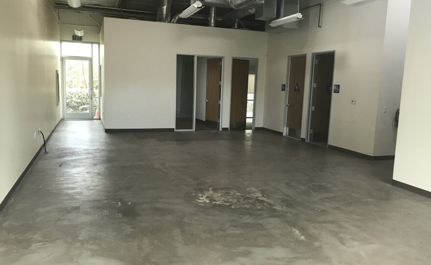 The interior of an office space on Sorrento Valley Road proposed to house a new cannabis dispensary is seen here, Nov. 27, 2019.