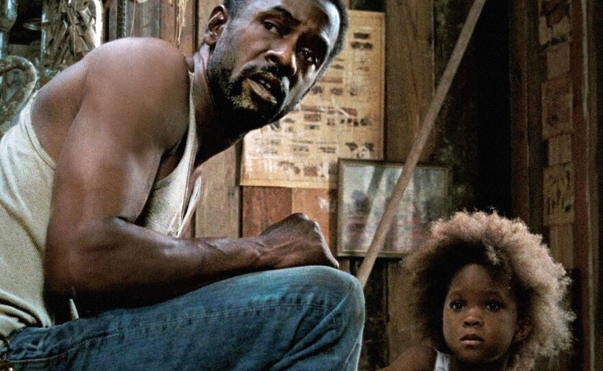 """Dwight Henry and Quvenzhané Wallis play father and daughter in """"Beasts of the Southern Wild."""""""