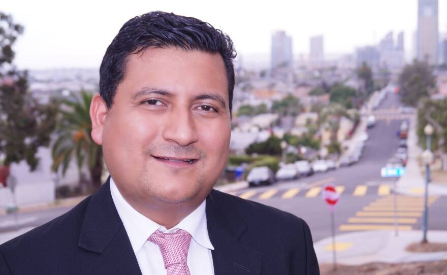 City Council candidate Christian Ramirez in an undated photo.