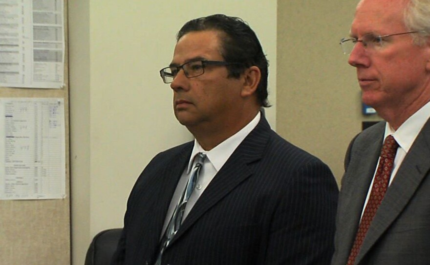 Jesus Gandara appears in court on Friday, April 4, 2014.