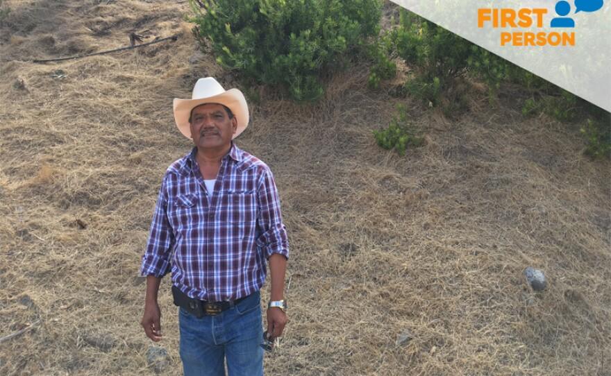 Ismael Resendiz at his protea flower farm in Rainbow on Sept. 15, 2017.