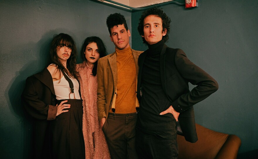 """Guadalajara-born Le Butcherettes just released a new EP, """"Don't Bleed,"""" though they canceled their tour through San Diego this month."""