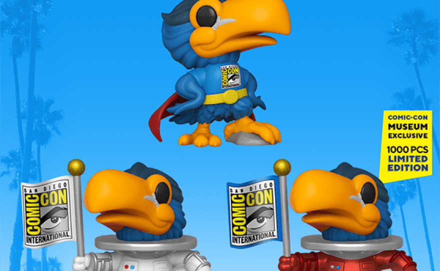 You don't need to wait in lines for Comic-Con exclusives but companies like Funko are offering Limited Edition products to commemorate this Comic-Con@Home pandemic edition of the pop culture convention.
