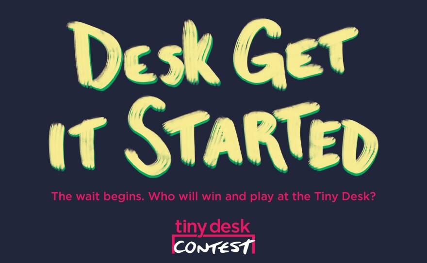 The logo for NPR's 2018 Tiny Desk contest.