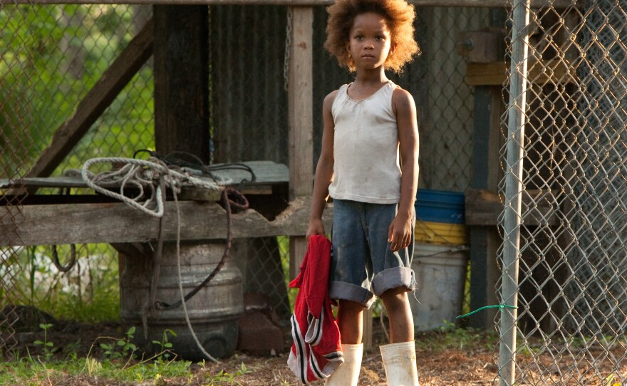 """Quvenzhané Wallis makes her film debut as Hushpuppy in """"Beasts of the Southern Wild."""""""