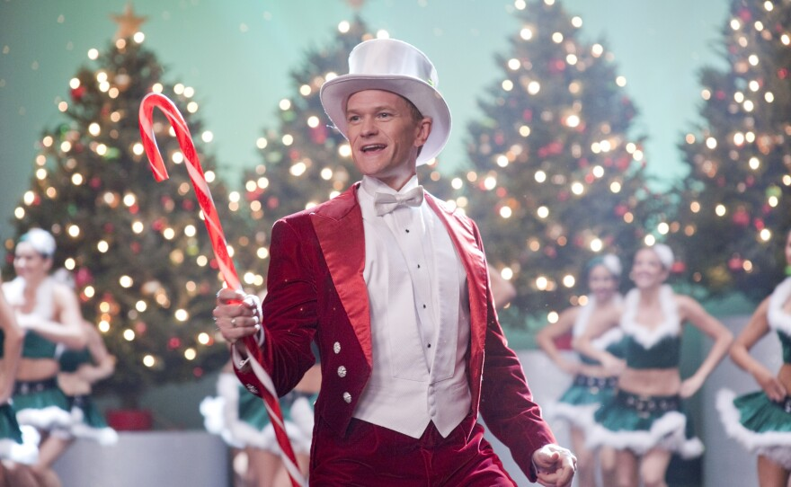 "Neil Patrick Harris as NPH in ""A Very Harold and Kumar 3D Christmas."""