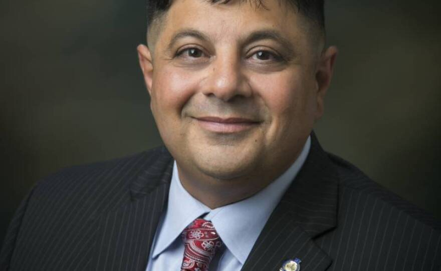 Dr. Adolphe Edward, in this undated photo, is the chief executive officer for El Centro Regional Medical Center in Imperial County, a rural region on the U.S.-Mexico border that has the highest coronavirus infection rate per capita of any California county.