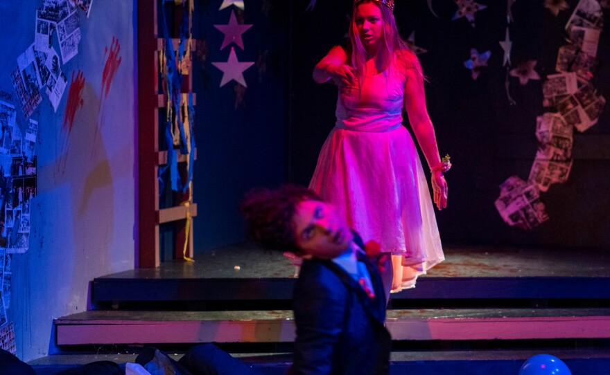 """Mary Grace Sumner plays the title character in """"Carrie: The Musical"""" at OnStage Playhouse."""