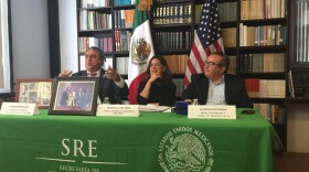 Local leaders discuss dual citizenship at the Mexican consulate in San Diego, March 15, 2017.