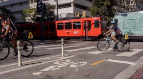 Bikes and Trolley