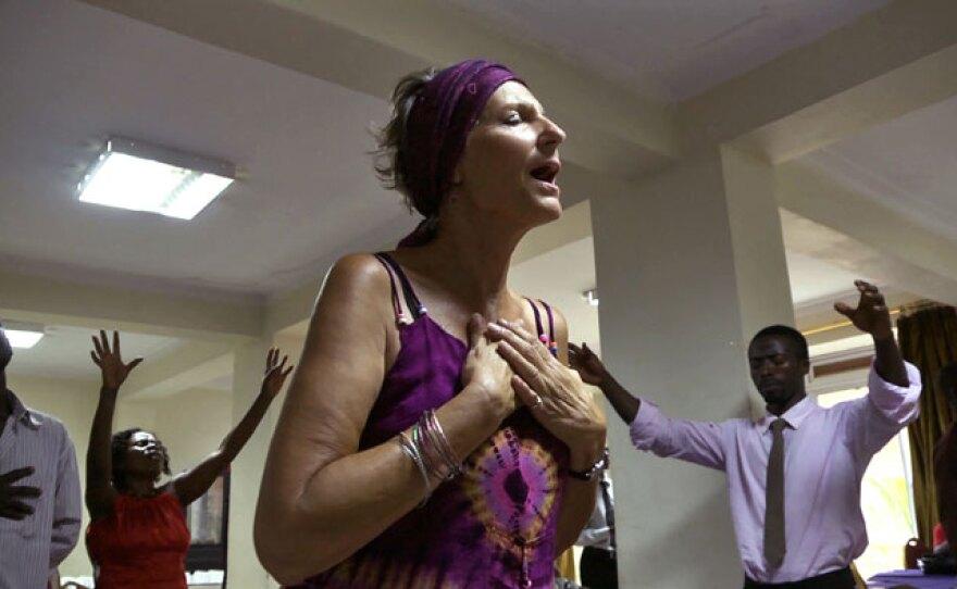 Rev. JoAnna Watson, Kampala, Uganda.