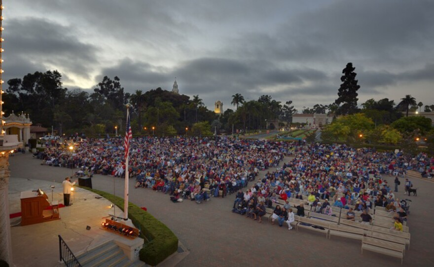 The Spreckels Organ Society's silent film night draws thousands. Monday it will showcase Buster Keaton's