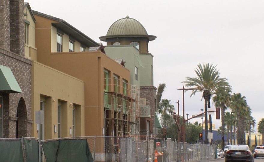 The Promenade at Creekside, an affordable housing complex in San Marcos, is shown in this photo, Jan. 9 2017.
