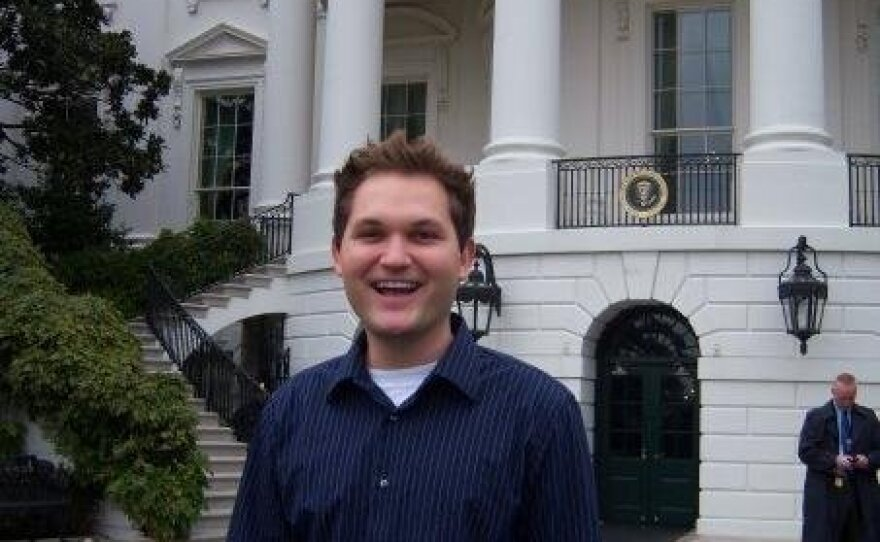 Todd Bosnich in his Twitter profile picture.