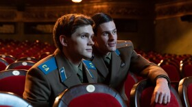 """Tom Prior is Segey and Oleg Zagorodnii is Roman in the British-Estonian co-production """"Firebird,"""" which opens FilmOut San Diego on Thursday."""