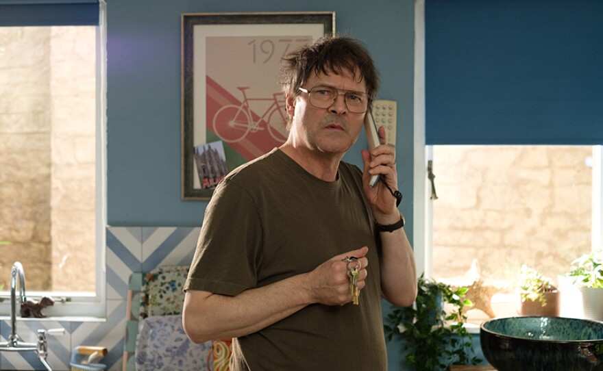 Mark Heap stars as Peter Cole in THE TROUBLE WITH MAGGIE COLE.