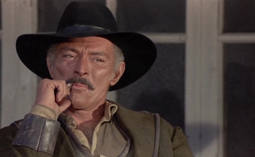 """American actor Lee Van Cleef made a name for himself in the 1960s starring in Italian spaghetti westerns like Giulio Petroni's """"Death Rides a Horse"""" in 1967."""