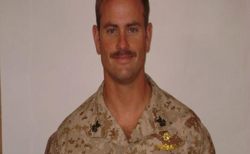 Navy Chief Petty Officer Justin Wilson
