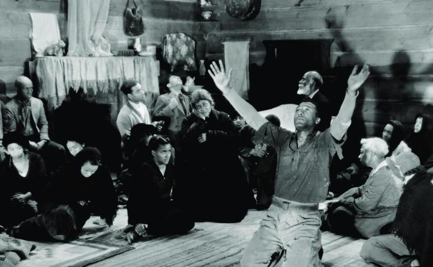 """King Vidor's """"Hallelujah"""" featured Daniel L. Haynes in an all African American musical from 1929."""