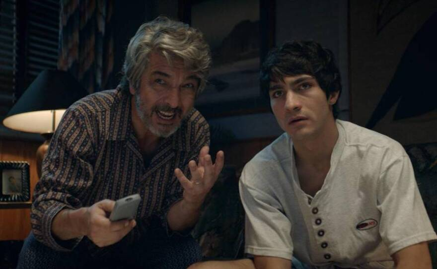 """""""La odisea de los giles"""" starring Ricardo Darin will play at the South Bay Drive-In as part of this year's San Diego Latino Film Festival."""