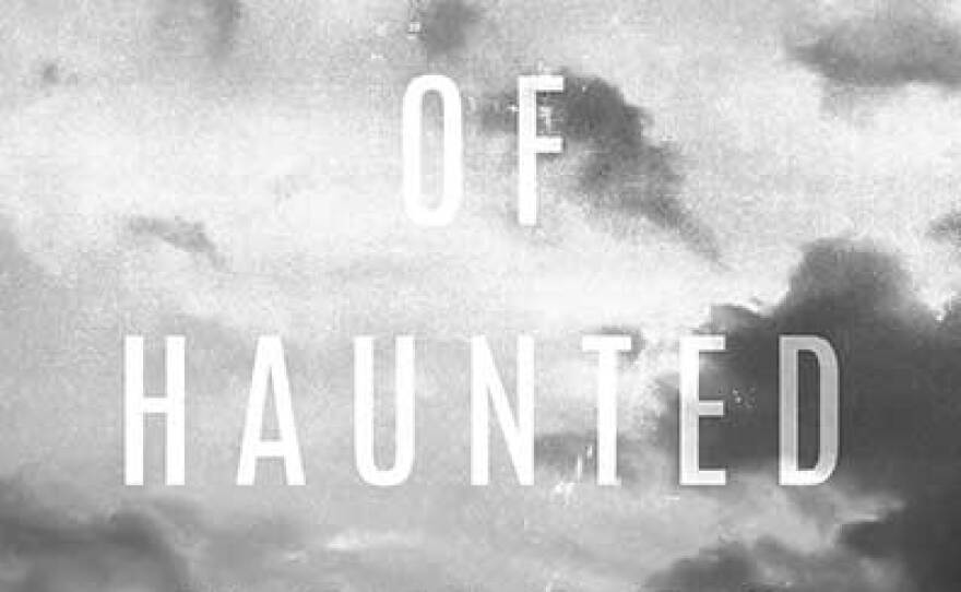 """The book cover for Adam O. Davis' """"Index of Haunted Houses."""""""